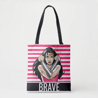 Wonder Woman Defend - Template Tote Bag
