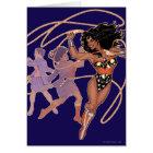 Wonder Woman Diana Prince Transformation Card