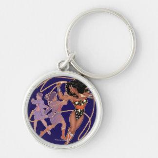 Wonder Woman Diana Prince Transformation Key Ring