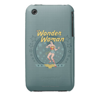 Wonder Woman Distressed Star Design Case-Mate iPhone 3 Cases