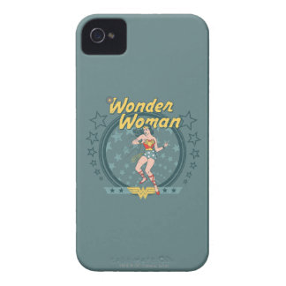 Wonder Woman Distressed Star Design iPhone 4 Case