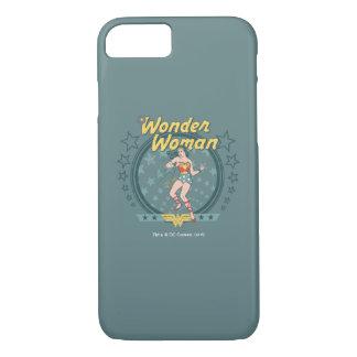 Wonder Woman Distressed Star Design iPhone 7 Case