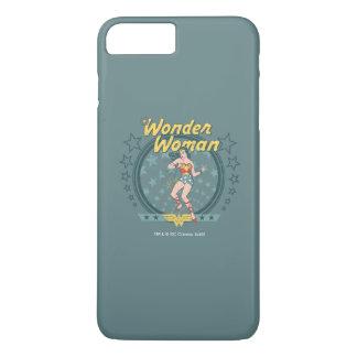 Wonder Woman Distressed Star Design iPhone 8 Plus/7 Plus Case