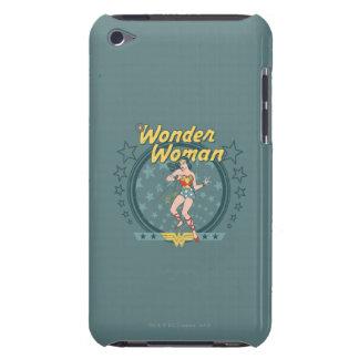 Wonder Woman Distressed Star Design iPod Case-Mate Cases