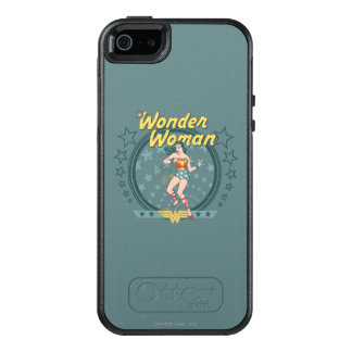Wonder Woman Distressed Star Design OtterBox iPhone 5/5s/SE Case
