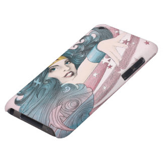 Wonder Woman Dolphin and Stripes iPod Touch Case