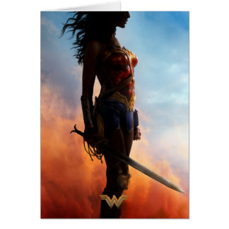 Wonder Woman Duststorm Silhouette Card