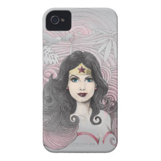 Wonder Woman Eagle and Trees iPhone 4 Case