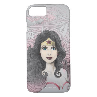 Wonder Woman Eagle and Trees iPhone 8/7 Case