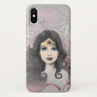 Wonder Woman Eagle and Trees iPhone X Case