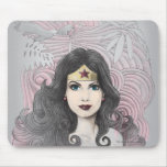 Wonder Woman Eagle and Trees Mouse Pads