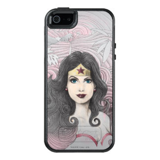 Wonder Woman Eagle and Trees OtterBox iPhone 5/5s/SE Case