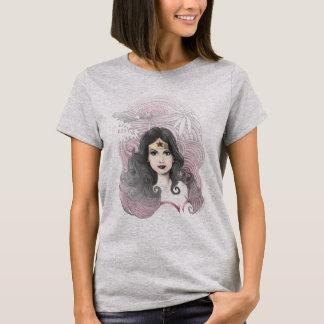 Wonder Woman Eagle and Trees T-Shirt