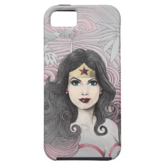 Wonder Woman Eagle and Trees Tough iPhone 5 Case