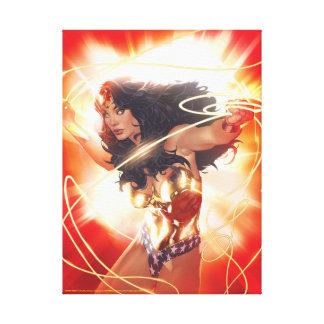 Wonder Woman Encyclopedia Cover Canvas Print