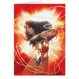 Wonder Woman Encyclopedia Cover Card