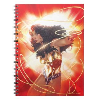 Wonder Woman Encyclopedia Cover Notebook