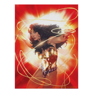 Wonder Woman Encyclopedia Cover Poster