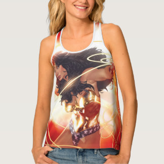 Wonder Woman Encyclopedia Cover Tank Top