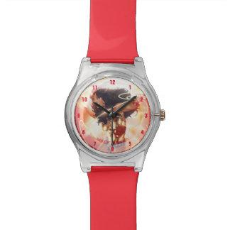 Wonder Woman Encyclopedia Cover Wrist Watch