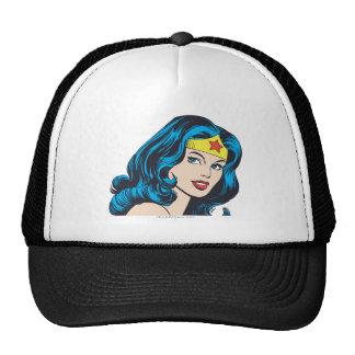 Wonder Woman Face Cap