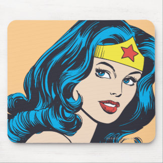 Wonder Woman Face Mousepads