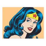 Wonder Woman Face Postcard