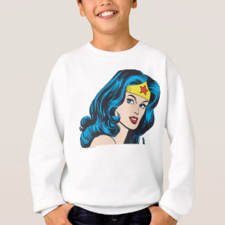 Wonder Woman Face Sweatshirt