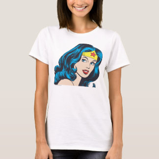 Wonder Woman Face T-Shirt