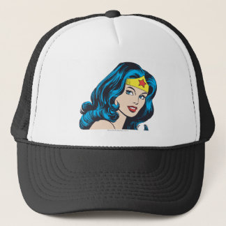 Wonder Woman Face Trucker Hat