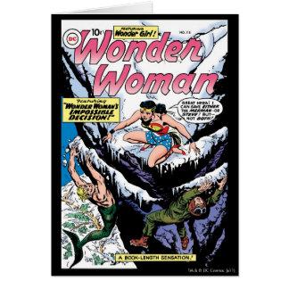 Wonder Woman Featuring Wonder Girl Card