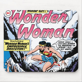 Wonder Woman Featuring Wonder Girl Mouse Mat