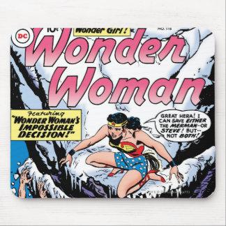 Wonder Woman Featuring Wonder Girl Mousepad