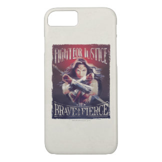 Wonder Woman Fight For Justice iPhone 8/7 Case