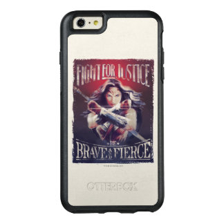Wonder Woman Fight For Justice OtterBox iPhone 6/6s Plus Case
