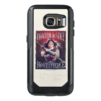 Wonder Woman Fight For Justice OtterBox Samsung Galaxy S7 Case