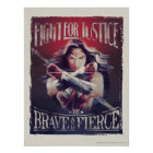 Wonder Woman Fight For Justice Poster