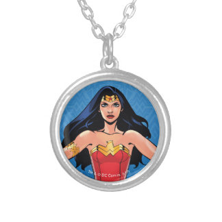 Wonder Woman - Fight For Peace Silver Plated Necklace