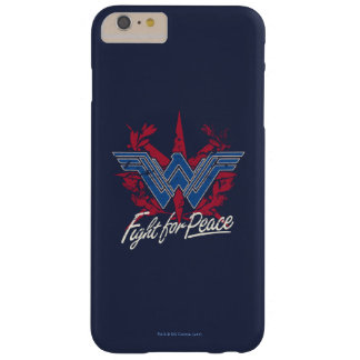 Wonder Woman Fight For Peace Symbol Barely There iPhone 6 Plus Case