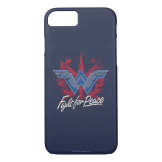 Wonder Woman Fight For Peace Symbol iPhone 8/7 Case