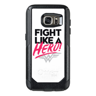 Wonder Woman - Fight Like A Hero OtterBox Samsung Galaxy S7 Case