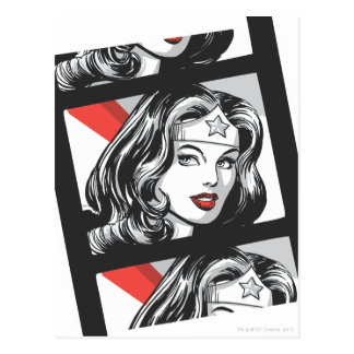 Wonder Woman Film Strip Postcard