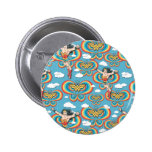 Wonder Woman Flying High Pinback Buttons