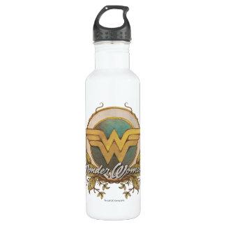 Wonder Woman Foliage Sketch Logo 710 Ml Water Bottle