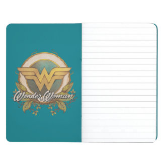 Wonder Woman Foliage Sketch Logo Journal