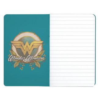 Wonder Woman Foliage Sketch Logo Journals