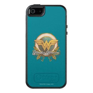 Wonder Woman Foliage Sketch Logo OtterBox iPhone 5/5s/SE Case
