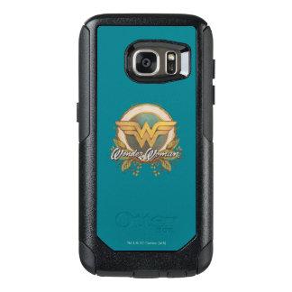 Wonder Woman Foliage Sketch Logo OtterBox Samsung Galaxy S7 Case