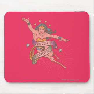 Wonder Woman Freedom Fighter Mouse Mat