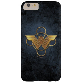 Wonder Woman Gold Symbol Over Lasso Barely There iPhone 6 Plus Case